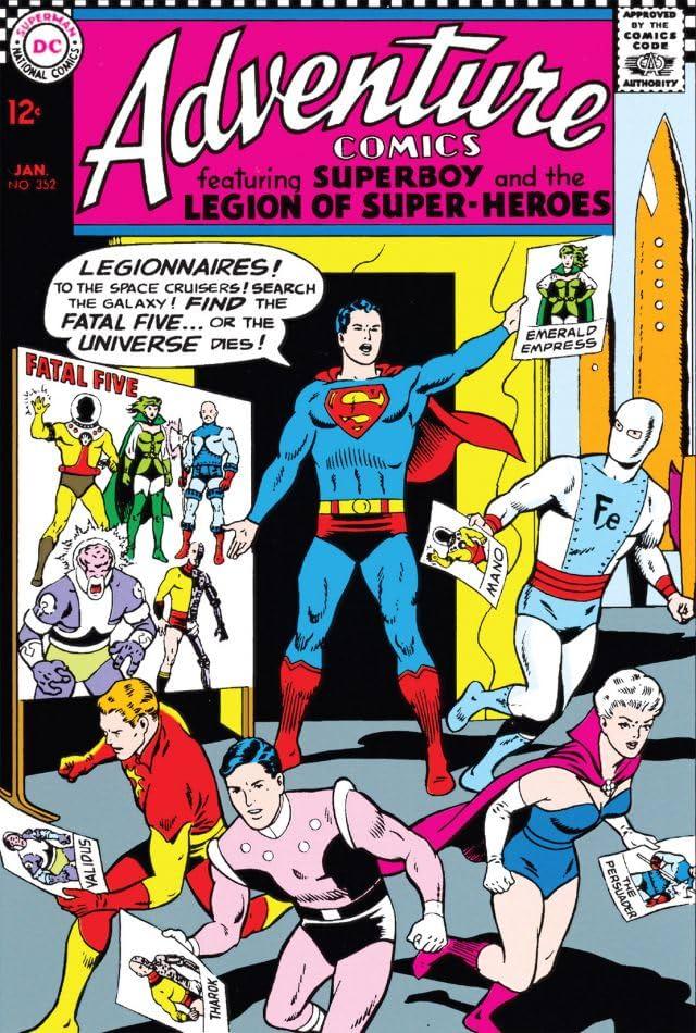 Adventure Comics (1935-1983) #352