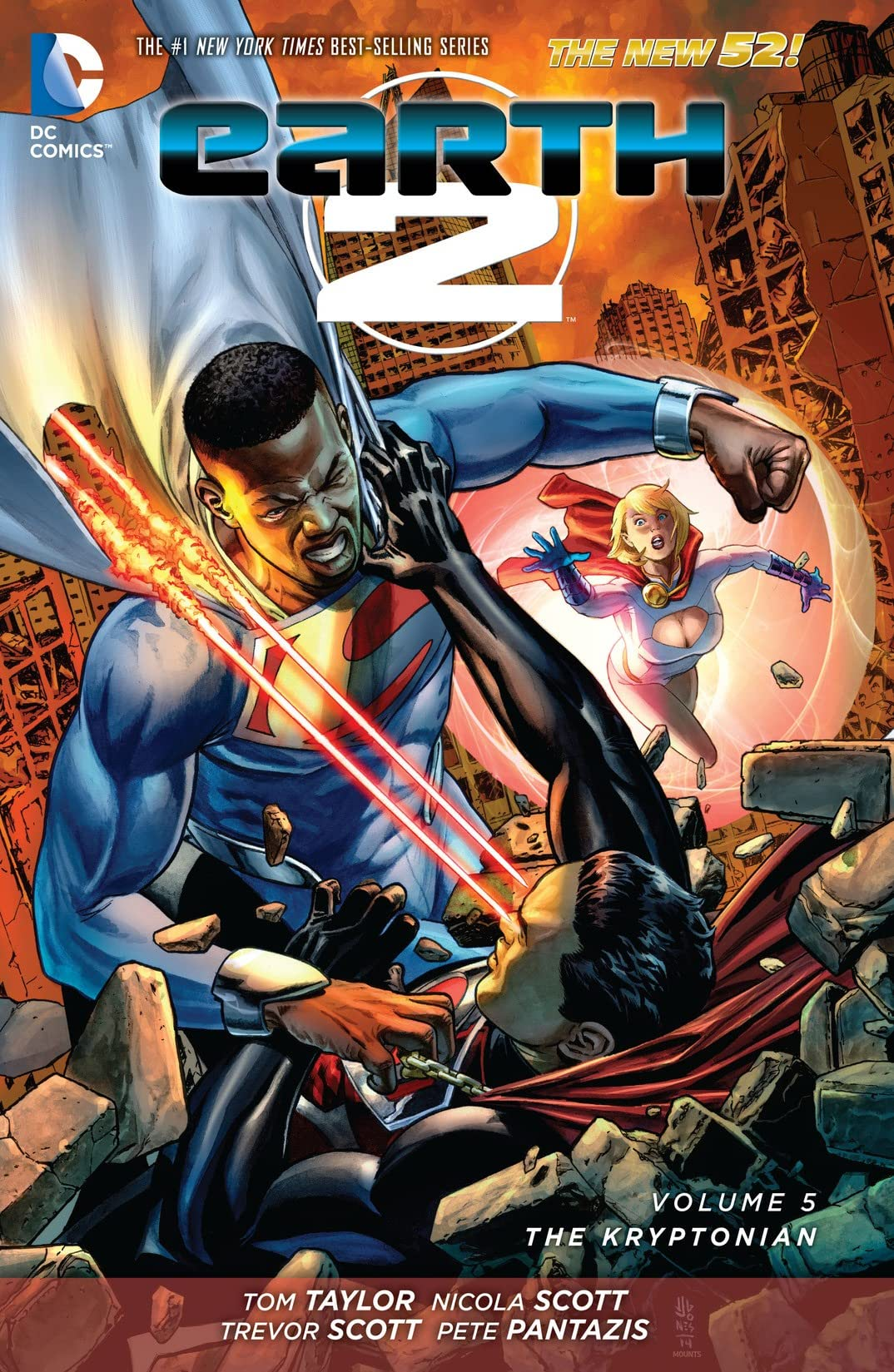 Earth 2 (2012-2015) Vol. 5: The Kryptonian