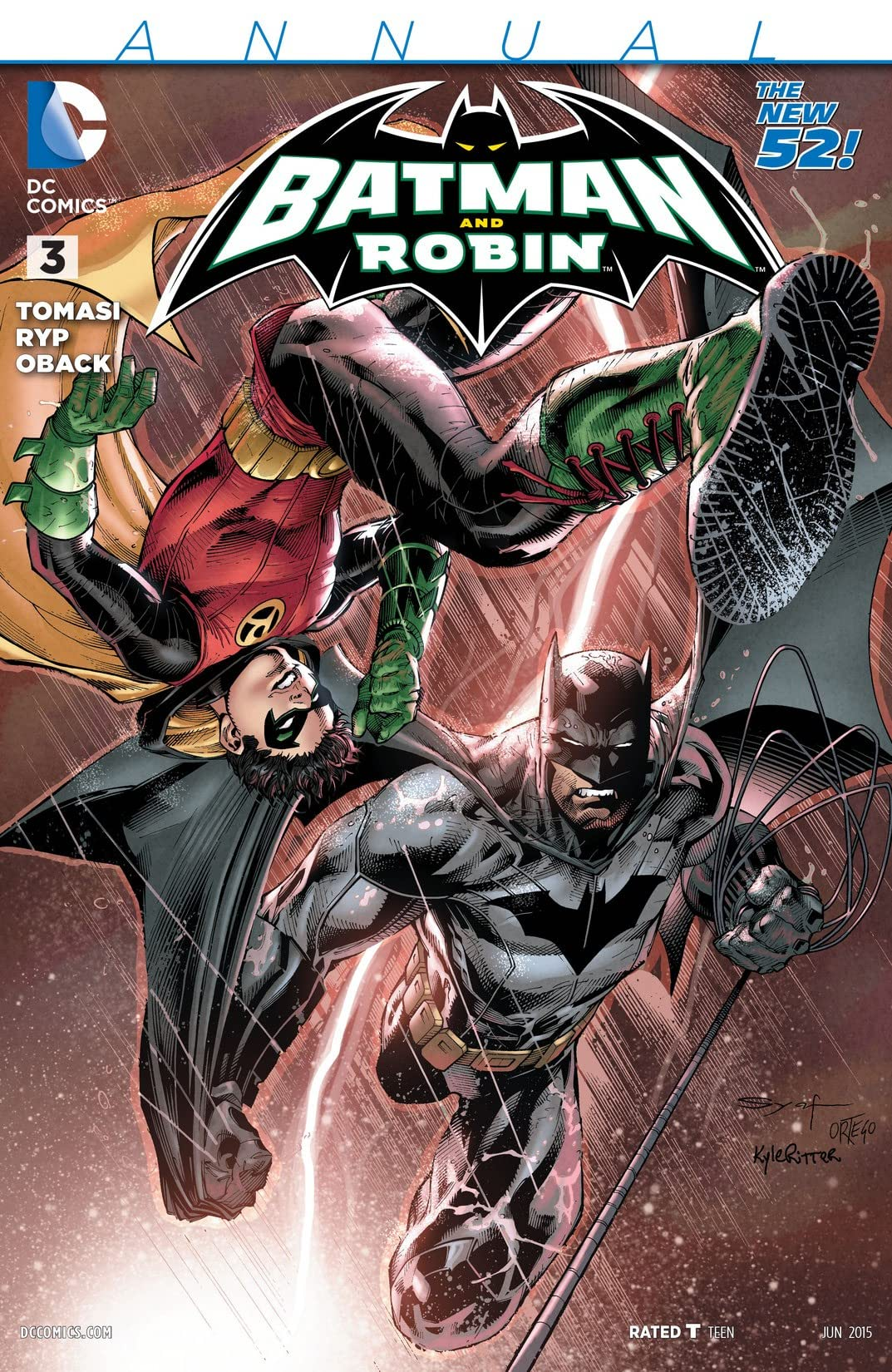 Batman and Robin (2011-2015): Annual #3