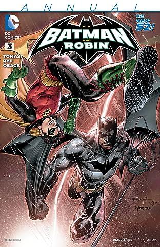 Batman and Robin (2011-2015): Annual #3
