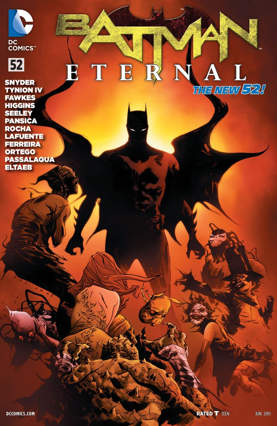 Batman Eternal (2014-2015) #52