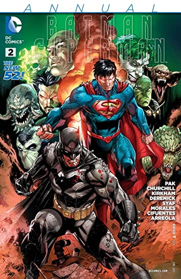 Batman/Superman (2013-2016): Annual #2