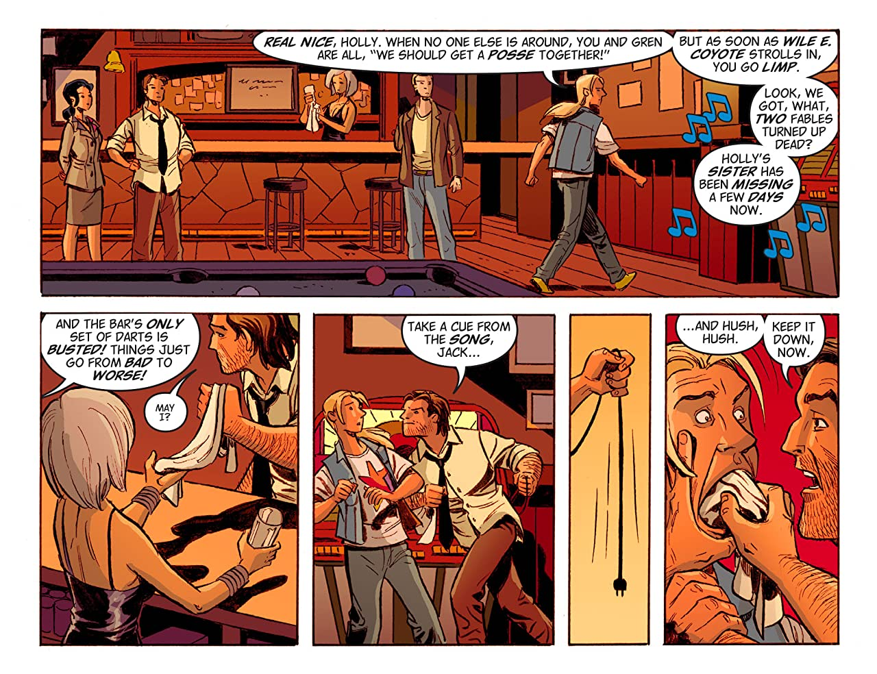 Fables: The Wolf Among Us #17