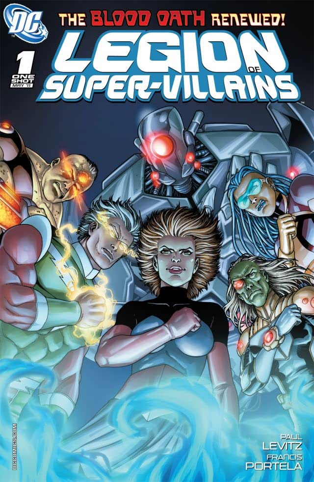 Legion of Super-Villains #1