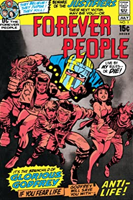 The Forever People (1971-1972) #3