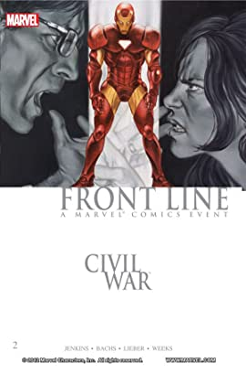 Civil War: Front Line Vol. 2