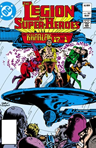 Legion of Super-Heroes (1980-1984) #287