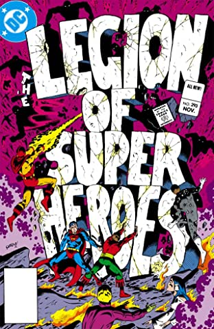 Legion of Super-Heroes (1980-1984) #293