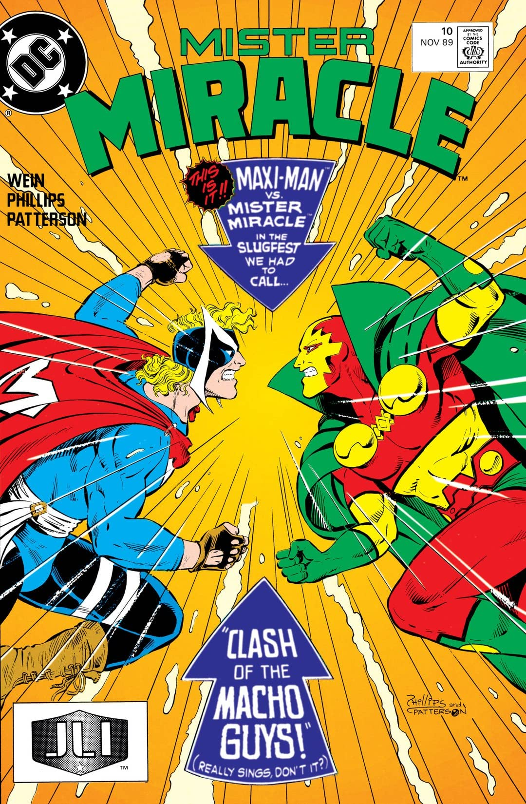 Mister Miracle (1989-1991) #10