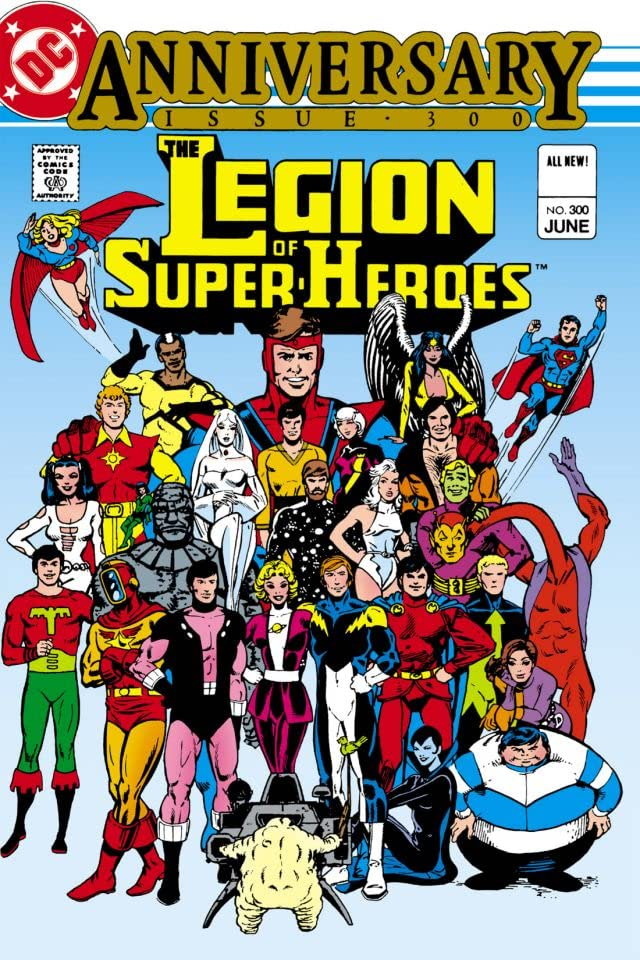 Legion of Super-Heroes (1980-1984) #300