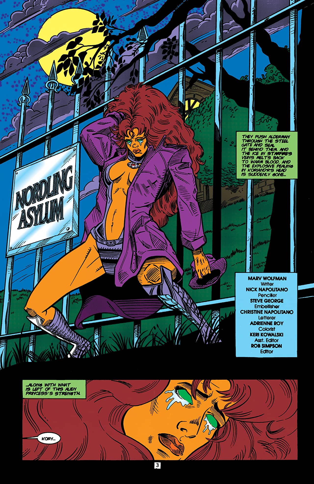 The New Titans (1984-1996) #105