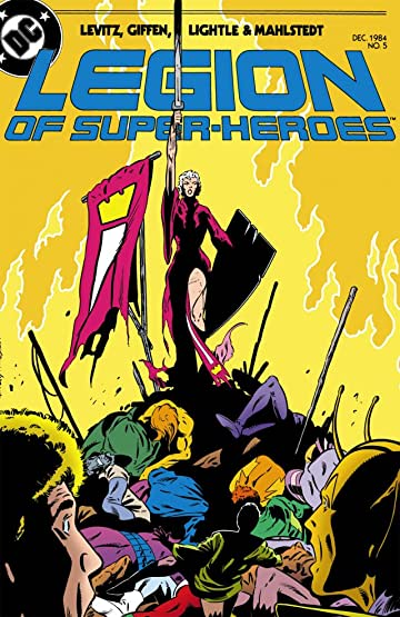 Legion of Super-Heroes (1984-1989) #5