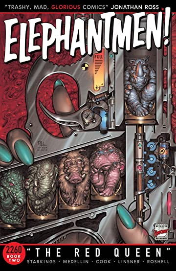 Elephantmen 2260 Tome 2: The Red Queen