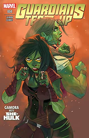 Guardians Team-Up (2015) #4