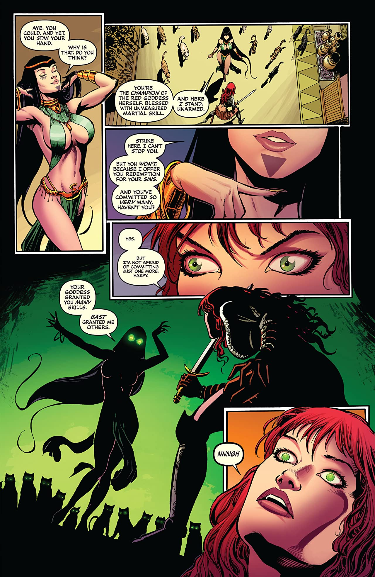 Red Sonja: She-Devil With A Sword #63