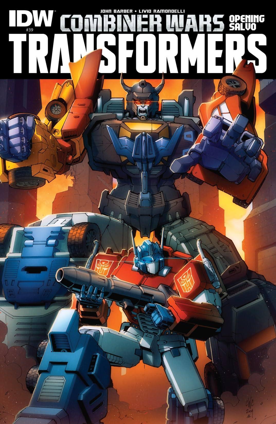 Transformers (2011-2016) #39: Combiner Wars Opening Salvo