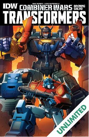 Transformers (2011-) #39: Combiner Wars Opening Salvo