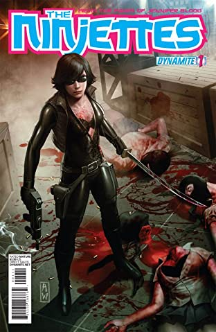 Garth Ennis' The Ninjettes #1