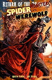 Return of the Monsters: Spider vs. Werewolf