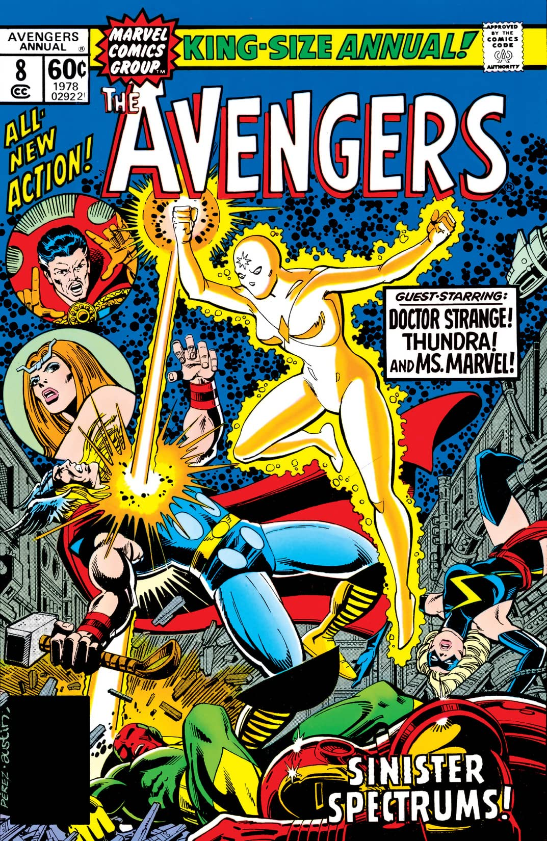 Avengers (1963-1996) Annual #8
