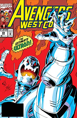 Avengers West Coast (1985-1994) No.89
