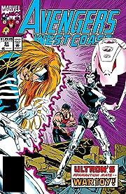 Avengers West Coast (1985-1994) #91