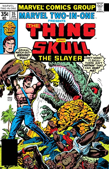 Marvel Two-In-One (1974-1983) #35