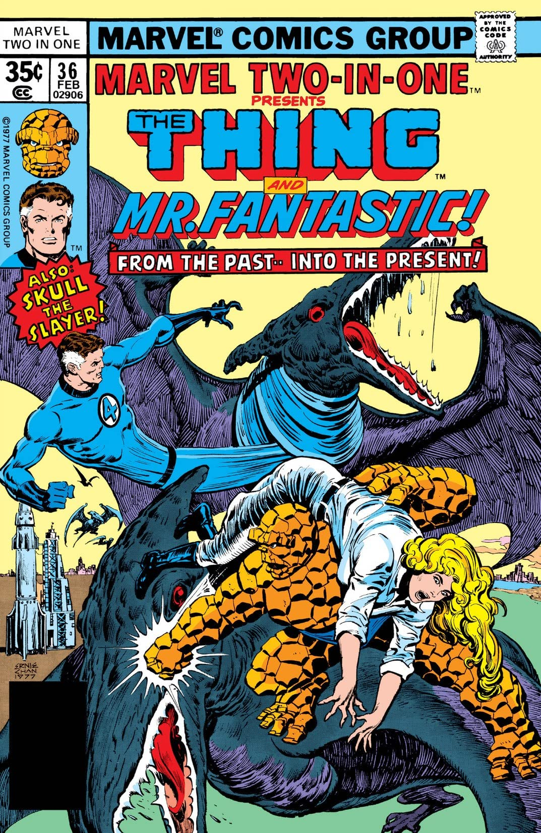 Marvel Two-In-One (1974-1983) #36