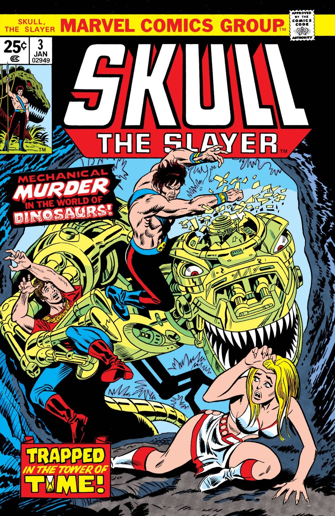 Skull The Slayer (1975-1976) #3