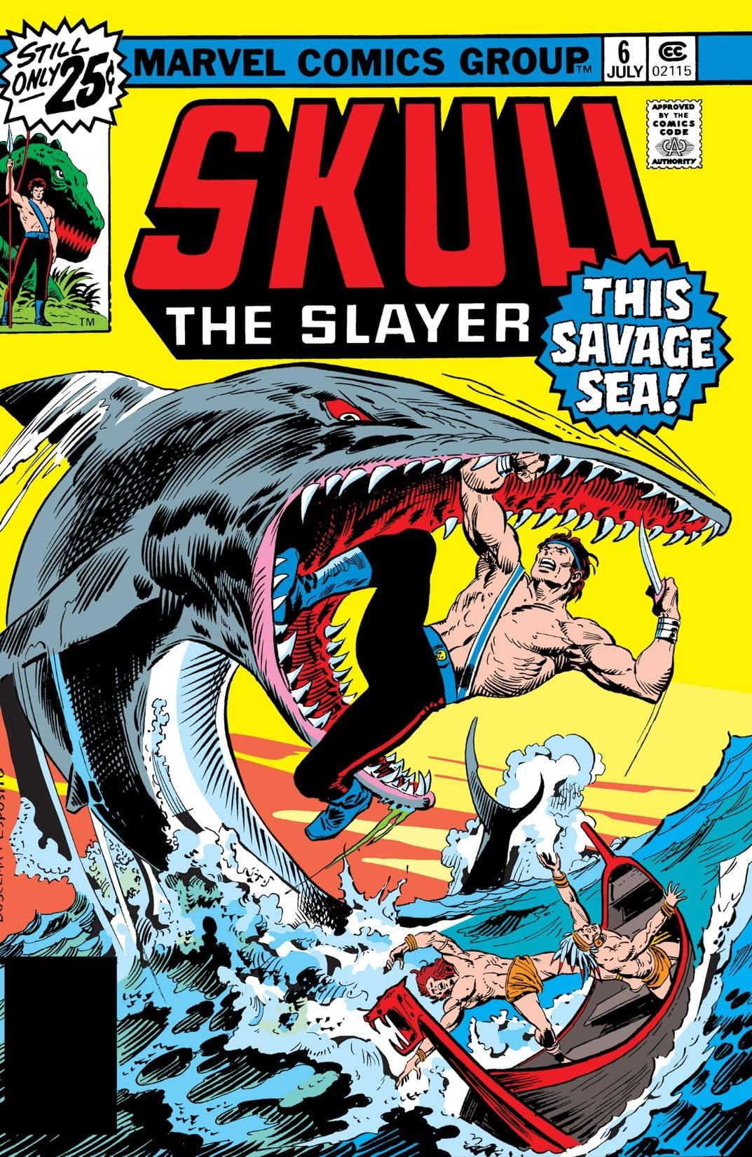 Skull The Slayer (1975-1976) #6