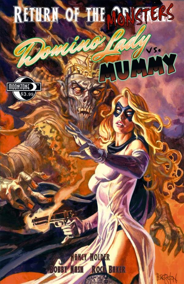 Return of the Monsters: Domino Lady vs. Mummy