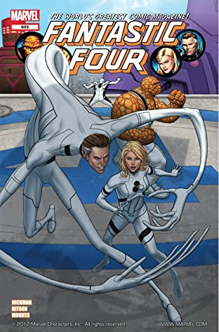 Fantastic Four (1998-2012) No.603