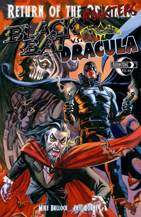 Return of the Monsters: Black Bat & Death Angel vs. Dracula