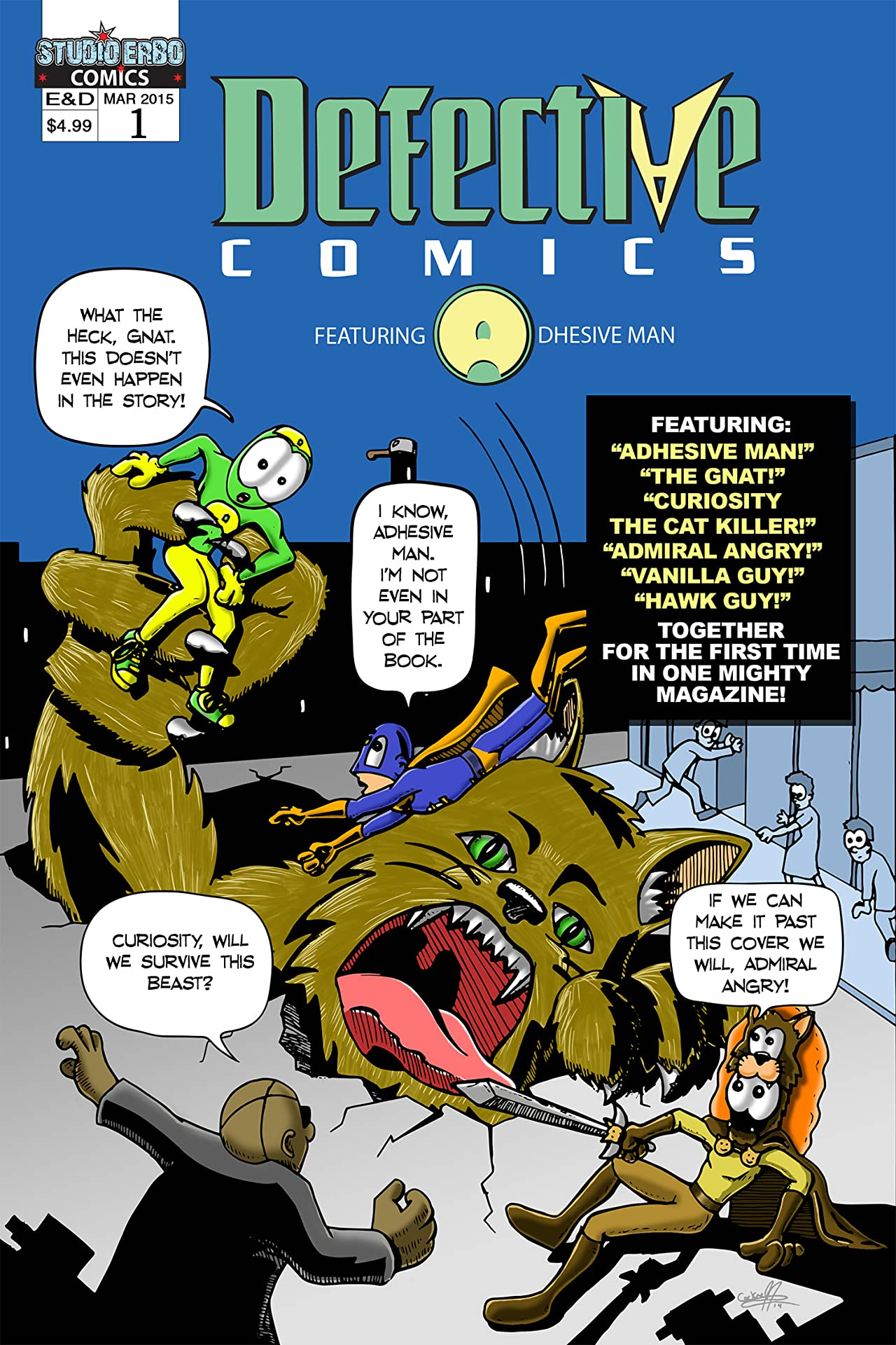 Defective Comics #1