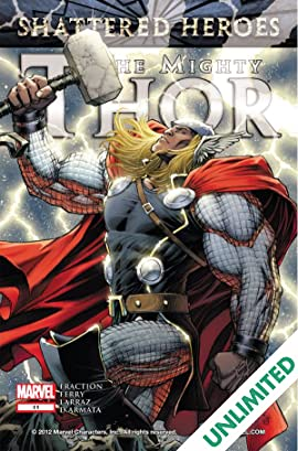 The Mighty Thor 2011 2012 11 Comics By Comixology