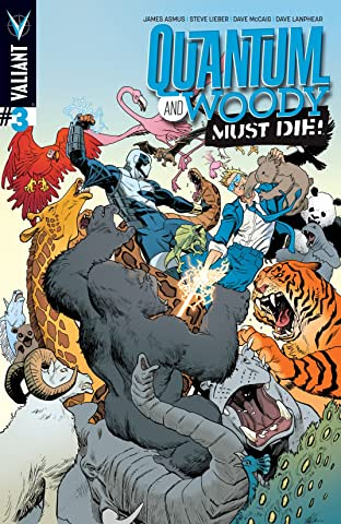 Quantum and Woody Must Die! #3 (of 4): Digital Exclusives Edition