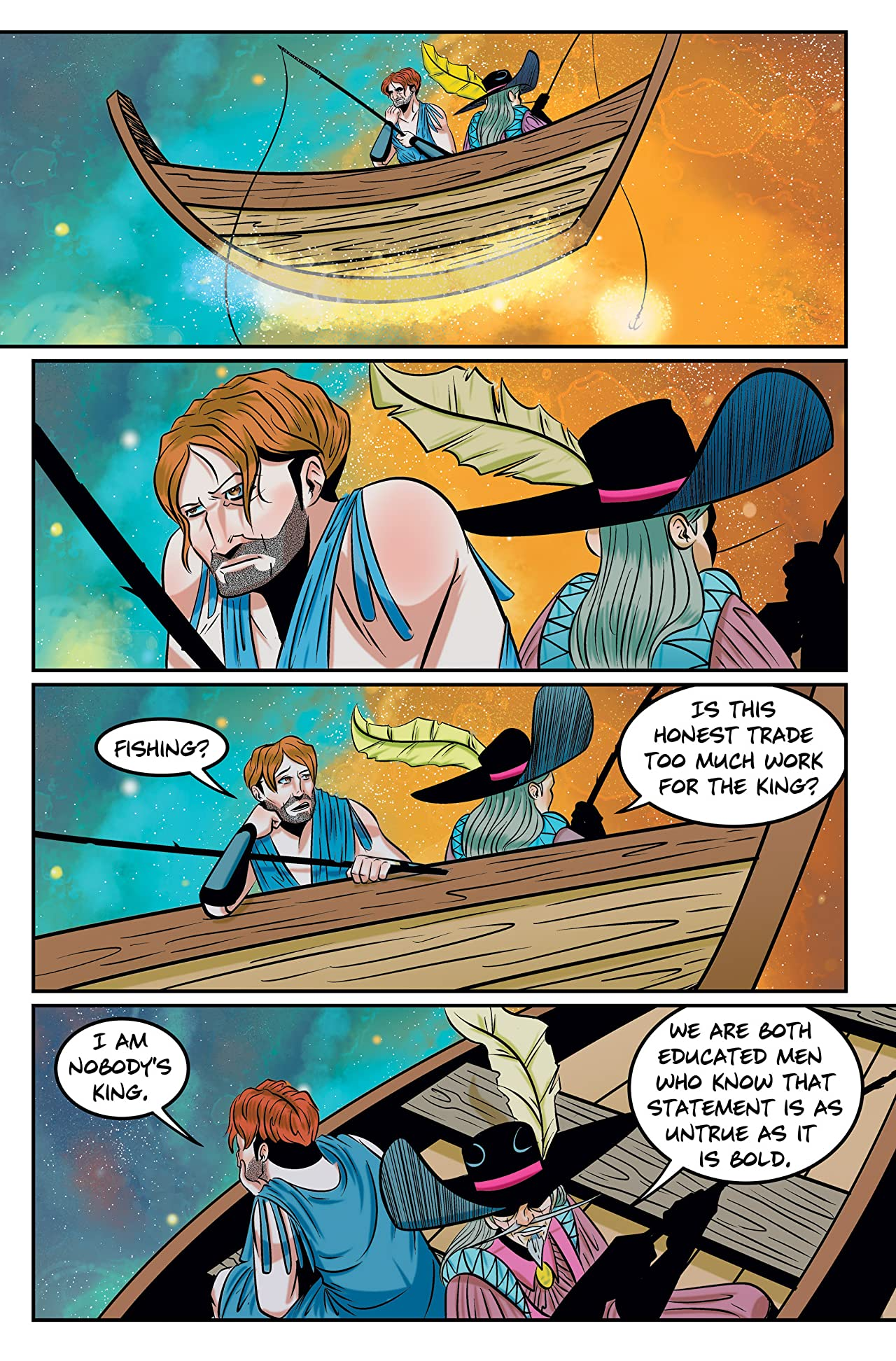 Jason and the Argonauts: Final Chorus #3