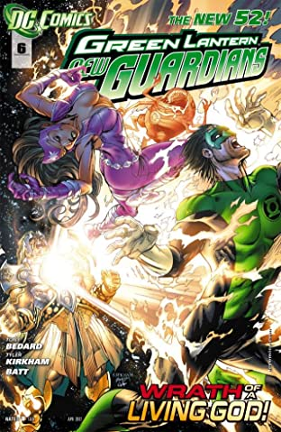 Green Lantern: New Guardians (2011-2015) No.6