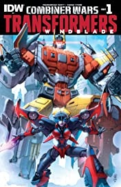 Transformers: Windblade (2015-) #1: Combiner Wars Part 1