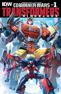 Transformers: Windblade (2015) #1: Combiner Wars Part 1