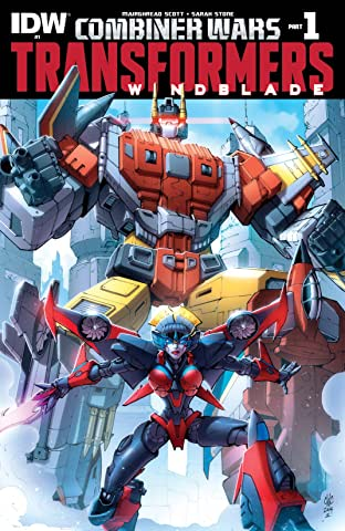 Transformers: Windblade (2015) #1: Combiner Wars Part 1