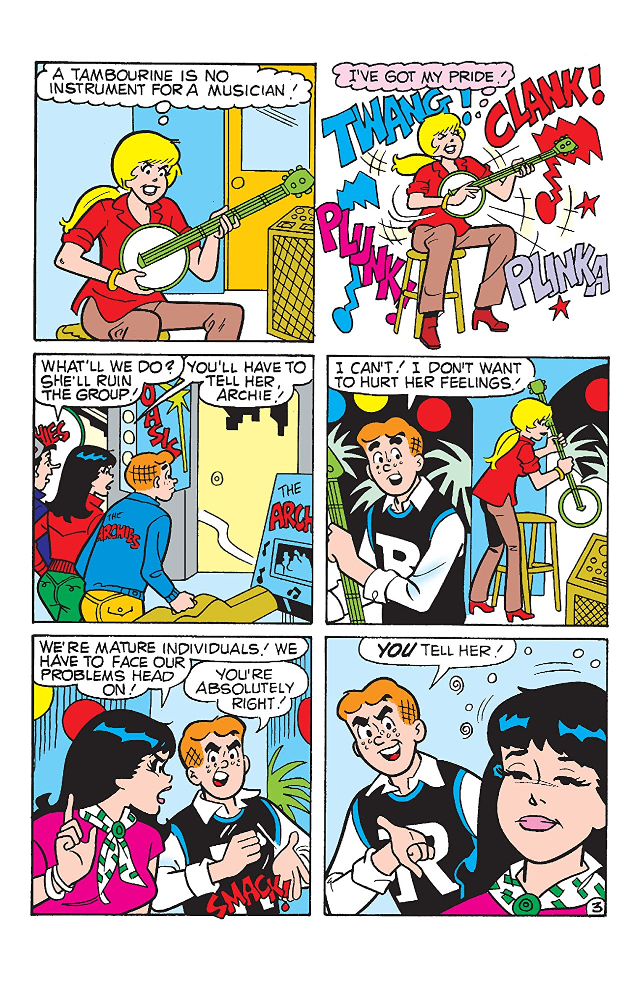 PEP Digital #139: Archie's Musical Mess