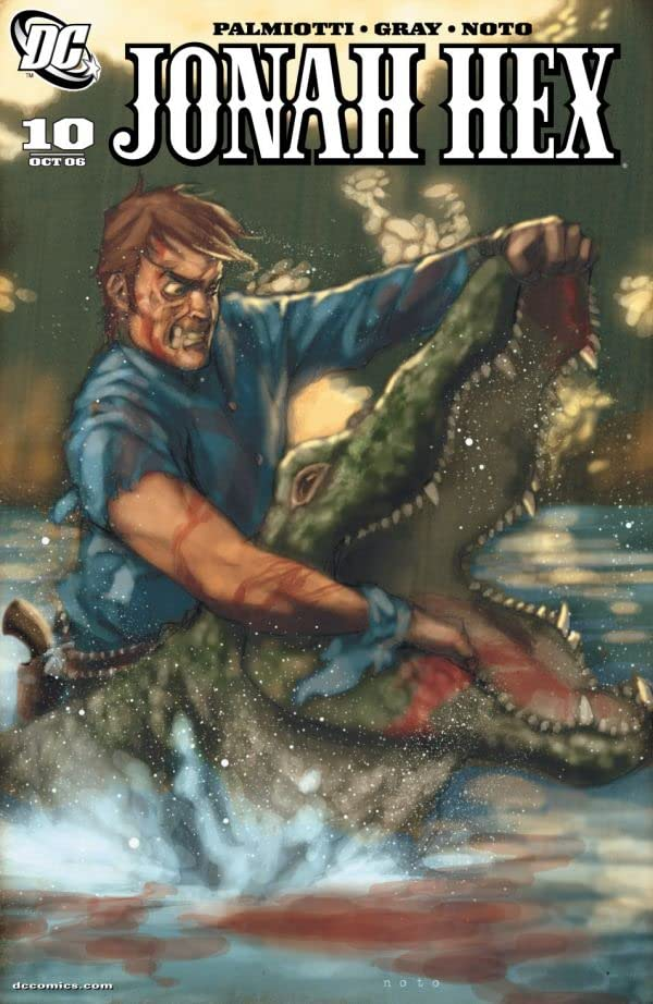 Jonah Hex (2006-2011) #10