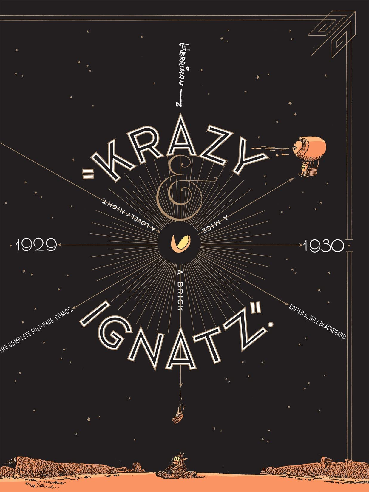 Krazy & Ignatz: 1929-1930 - A Brick, A Mice, A Lovely Night