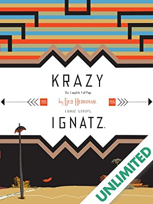 Krazy & Ignatz: 1935-1936 -  A Wild Warmth of Chromatic Gravy
