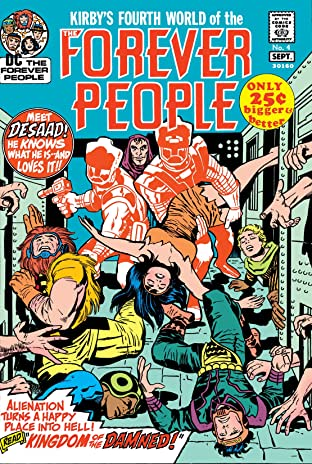 The Forever People (1971-1972) #4