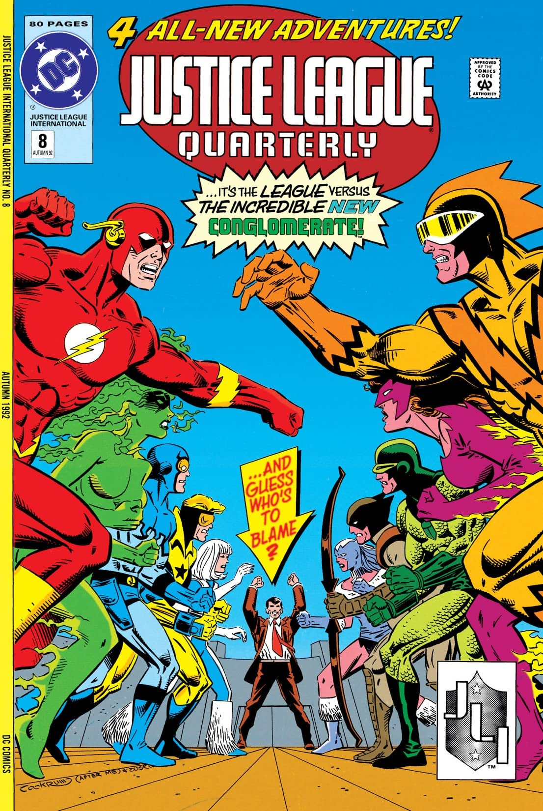 Justice League Quarterly (1990-1994) #8