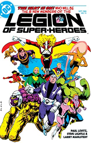 Legion of Super-Heroes (1984-1989) #14