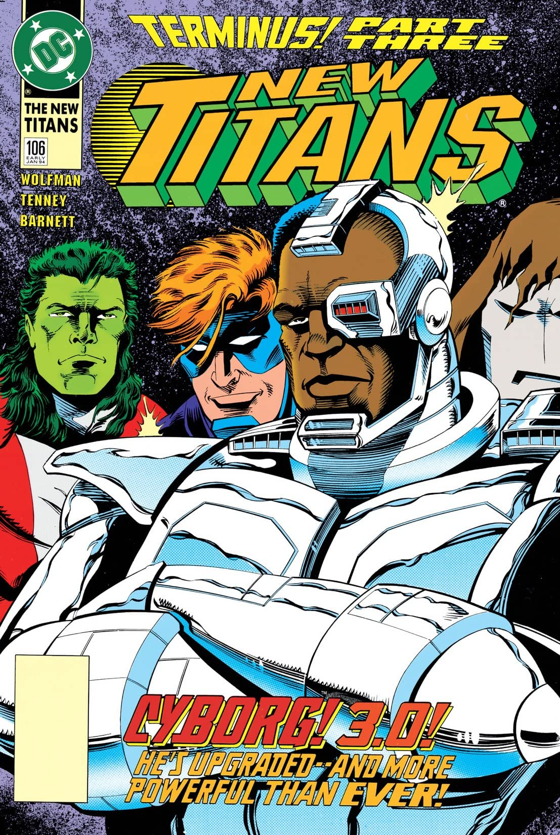 The New Titans (1984-1996) #106
