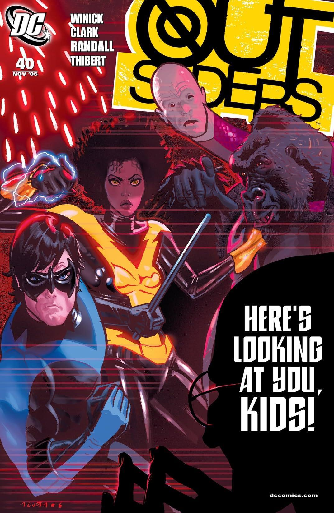 Outsiders (2003-2007) #40